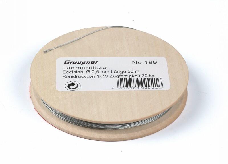 Diamantlitze 0,5 mm