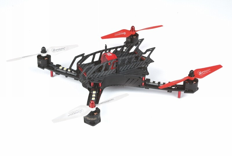 3D Copter Alpha 300Q HoTT - Fertigmodell