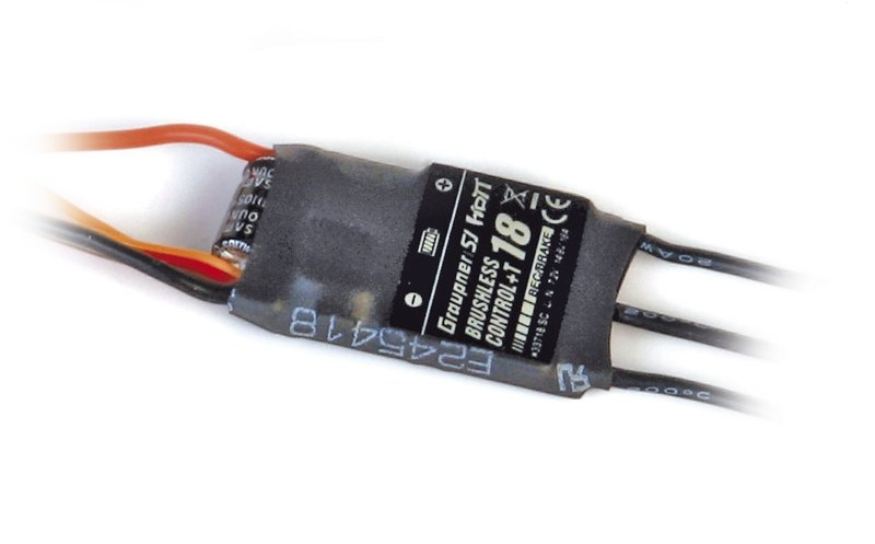 BRUSHLESS CONTROL +T 18 BEC