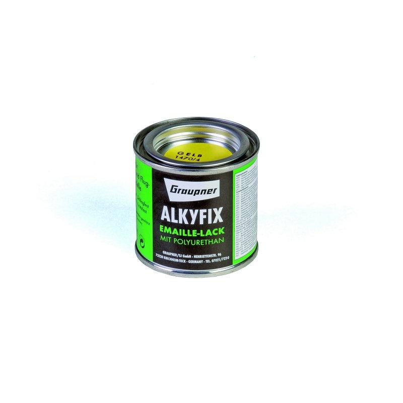Alkyfix-Emaillelack  gelb 100ml
