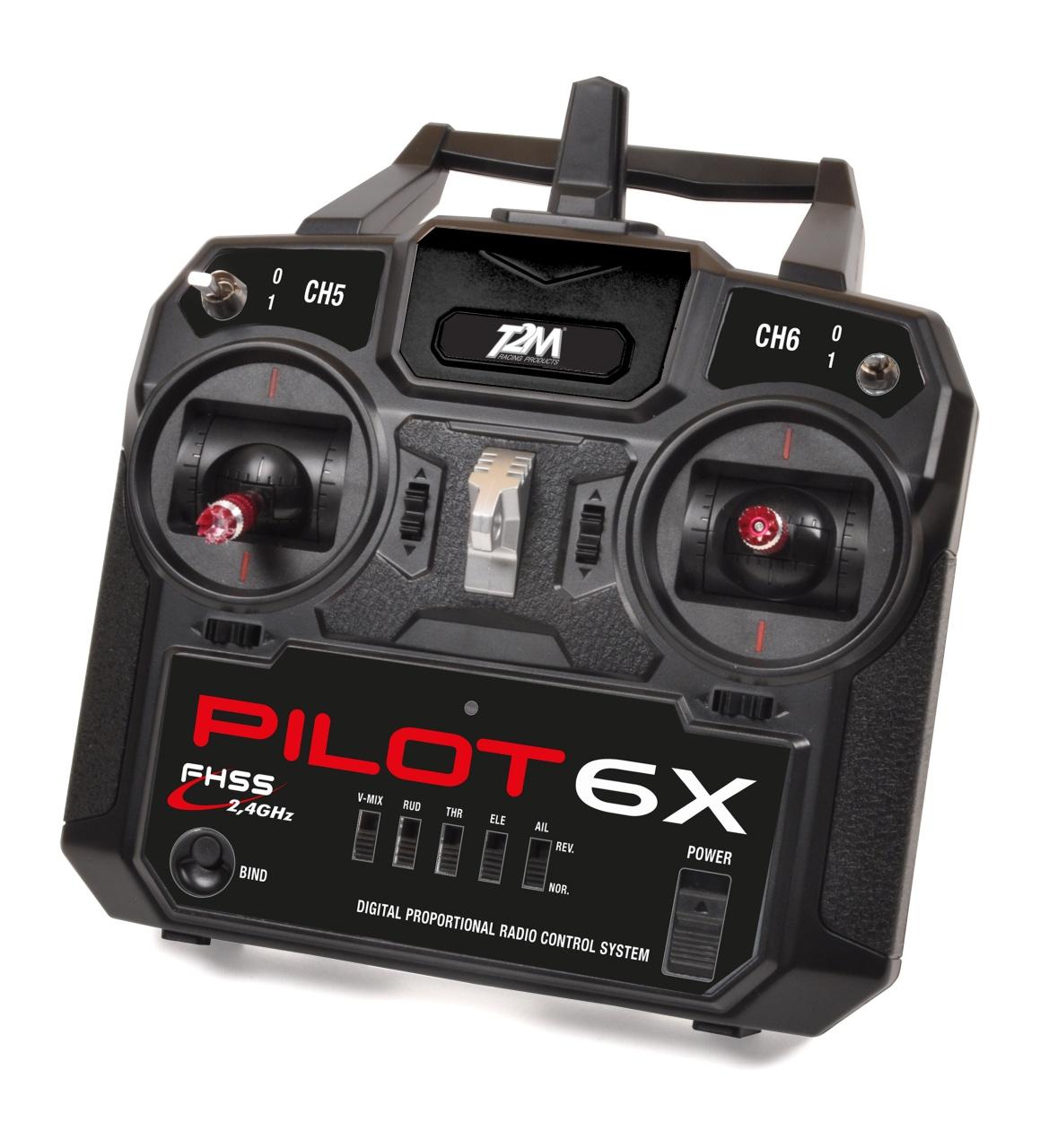 Pilot 6X 6-Kanal Fernsteuerung Mode 2