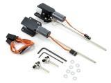 E-FLITE 10 - 15 elektr. Hauptfahrwerk 90° (0,9 - 2,0 kg)