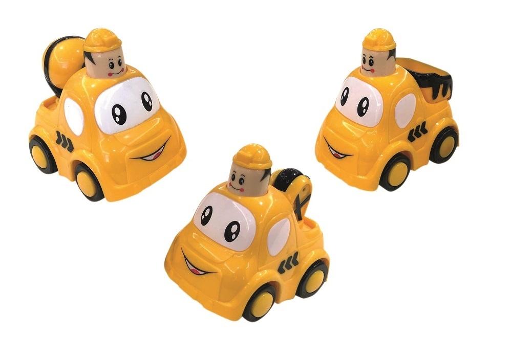 Push & Go Baufahrzeuge
