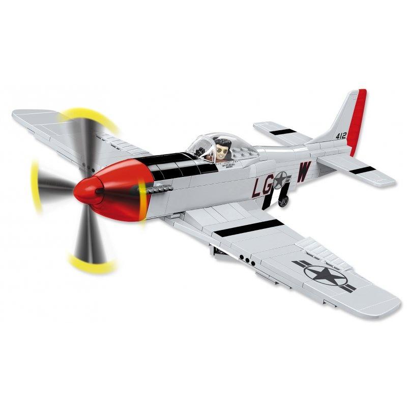 Mustang P-51D Top Gun 265 Teile