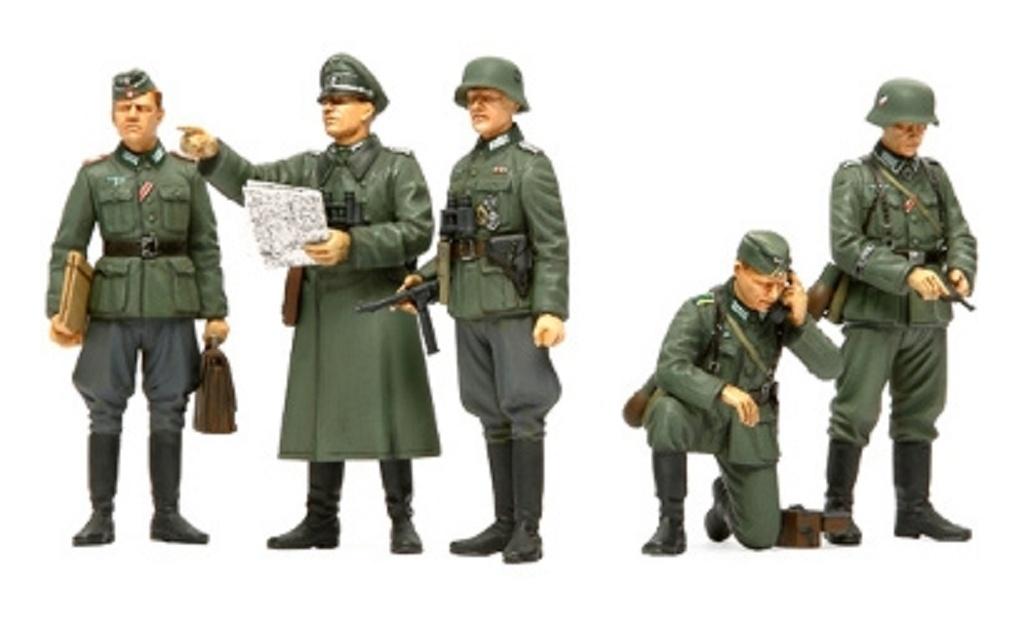 1:35 WWII Figuren-Set Dt.Oberbefehlshaber