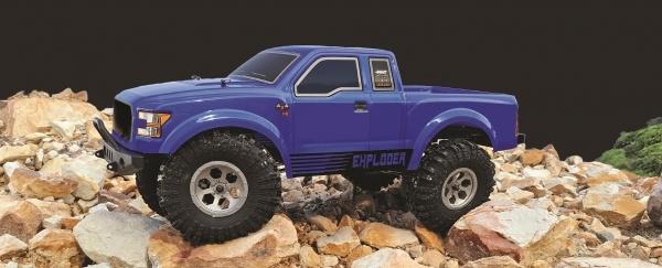Pickup Crawler 1:10 4WD RTR, Blau