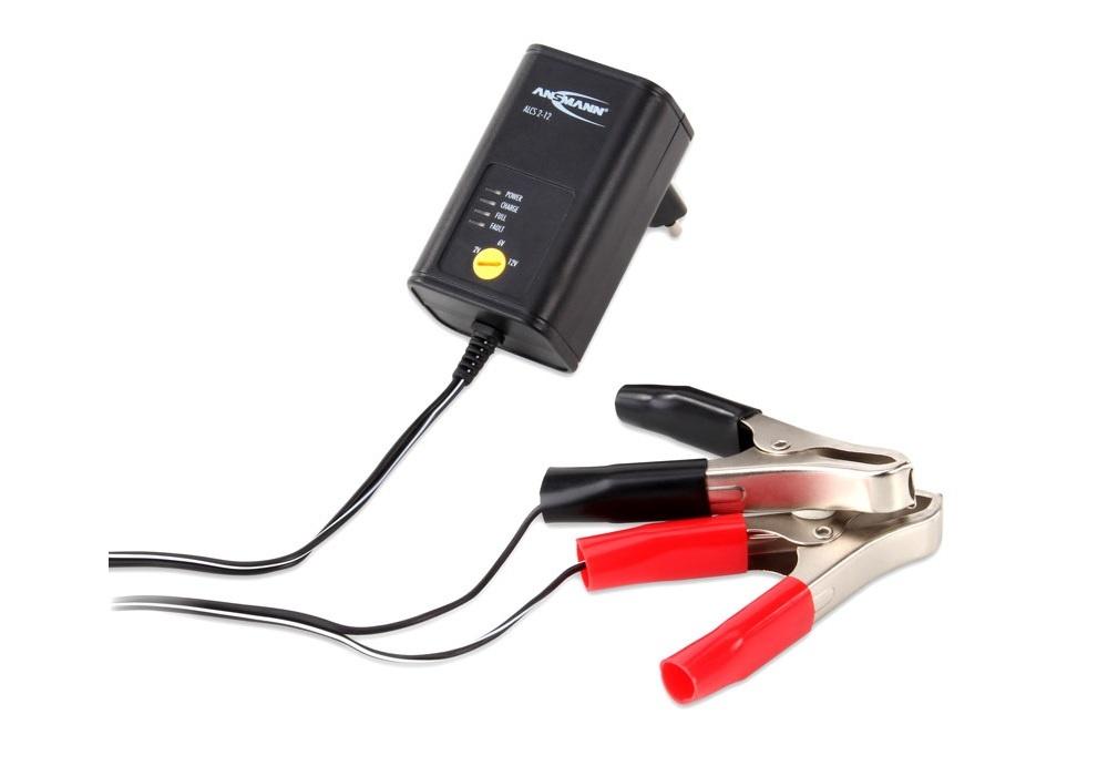 Steckerladegerät für Bleiakkus 2-12V