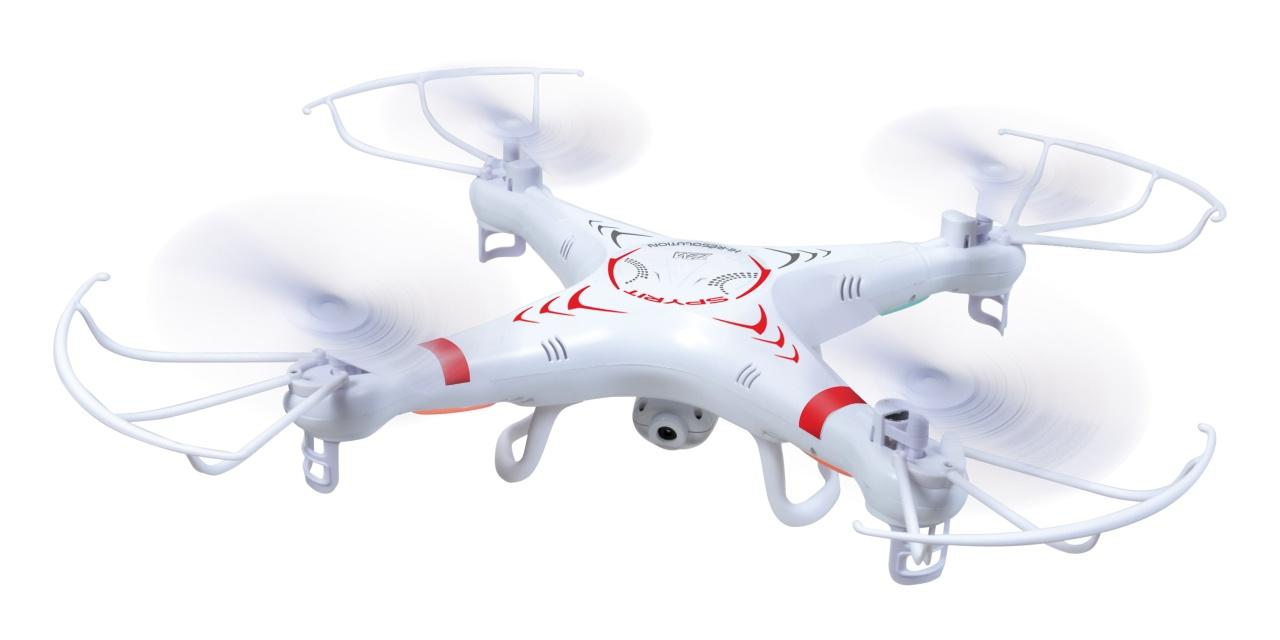 Spyrit Quadrocopter 2,4 GHz (mit HD Kamera)