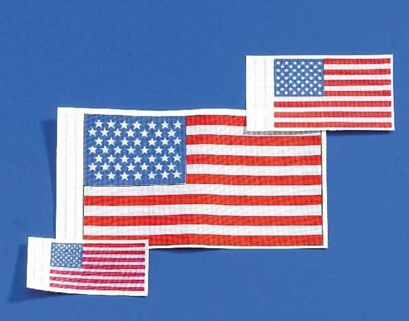 Flagge USA 18x35 mm