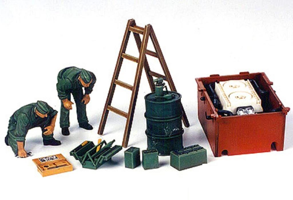1:35 Diorama-Set Panzer Instandsetzungs-Crew