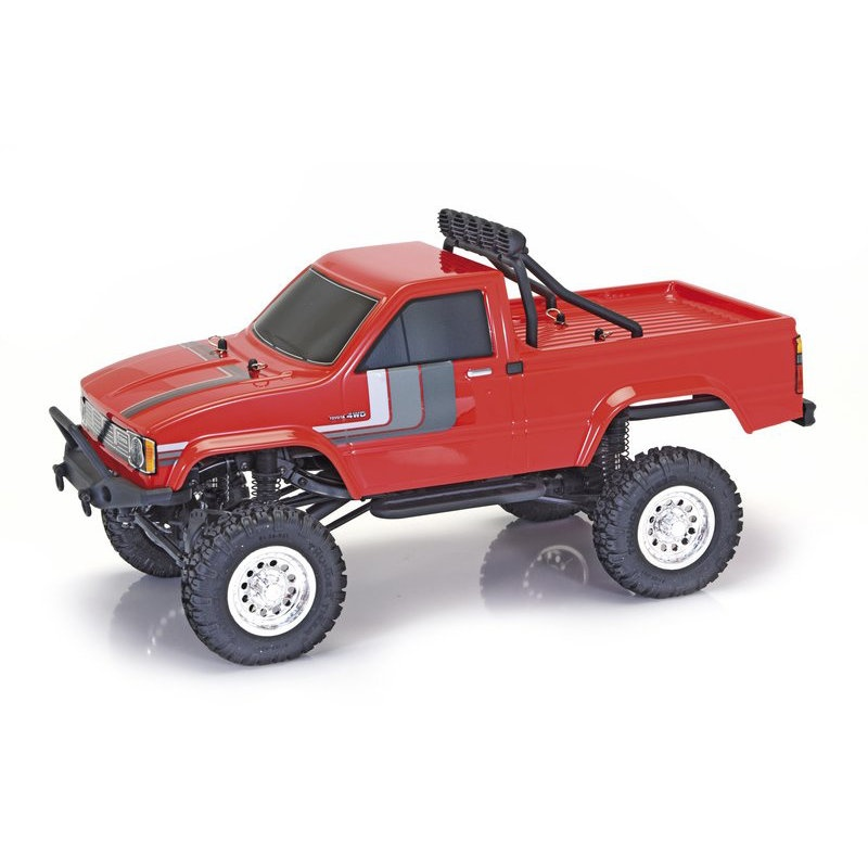 TOYOTA Hilux 4x4 Pich up RTR rot 1:12
