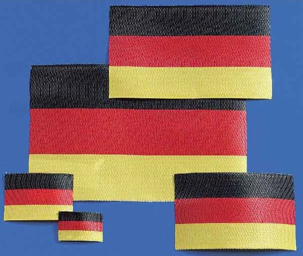 Flagge Deutschland 15x23 mm
