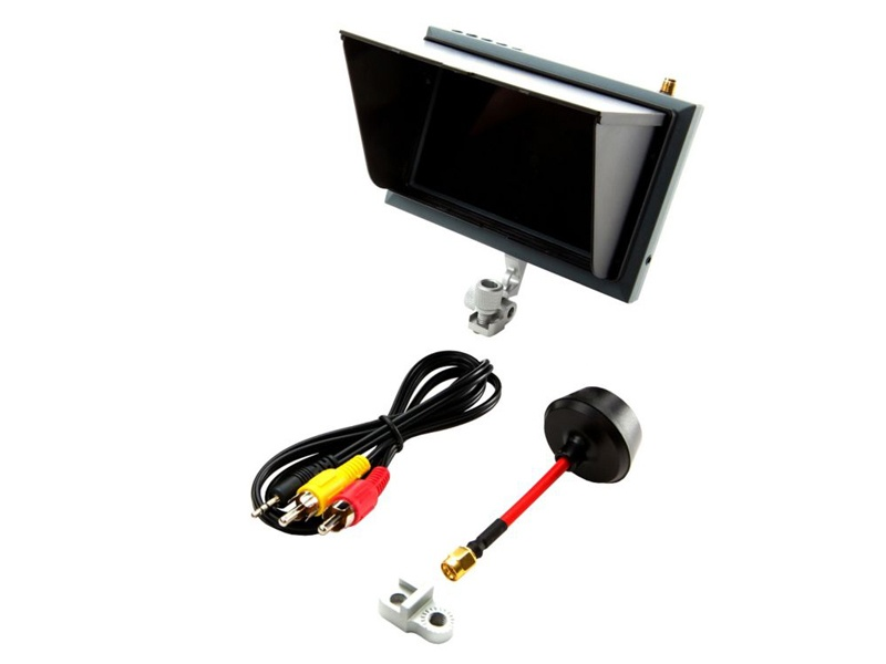 Spektrum FPV Video Monitor 4.3 mit Sonnenblende