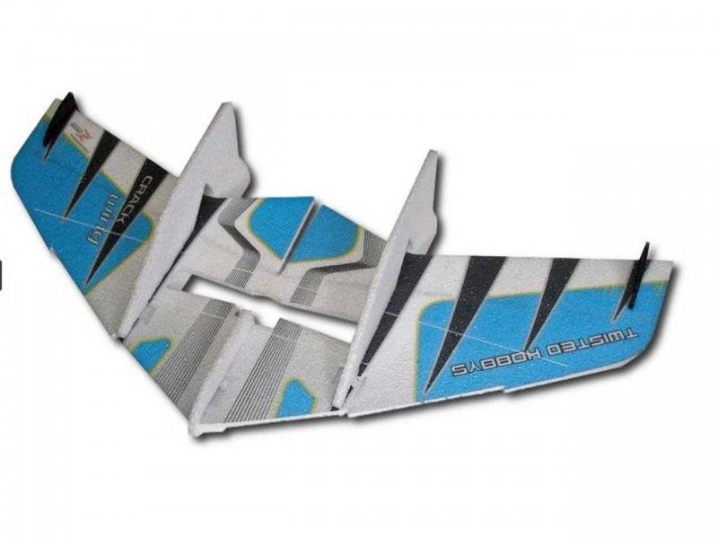 Crack Wing 0,75m blau