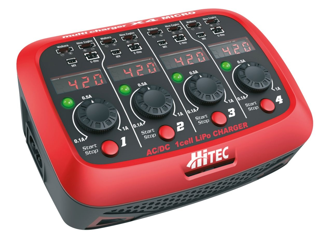 HiTEC Multicharger X4 Micro