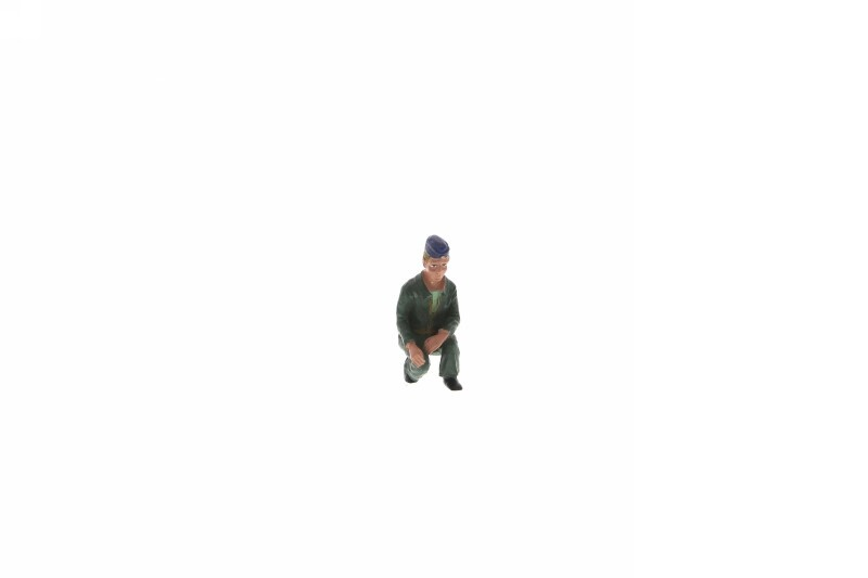 Marinesoldat kniend, 1:20