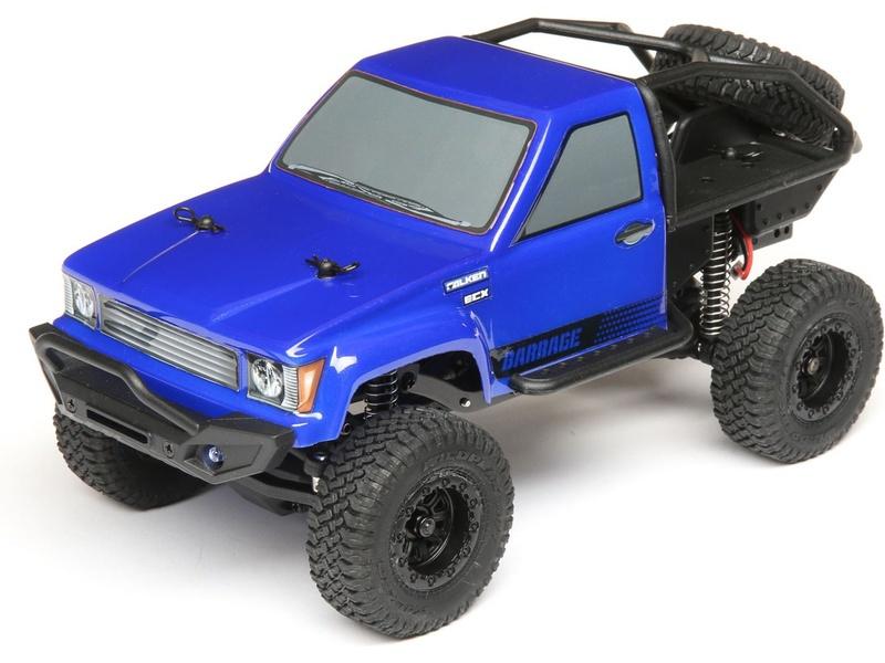 ECX Barrage Scaler 4WD 1:24 RTR - Blau