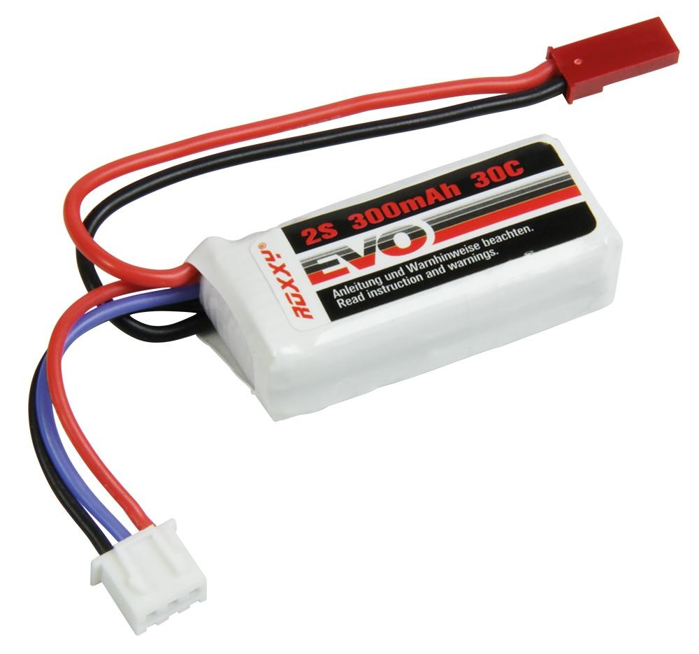 ROXXY EVO LiPo 2S - 300mAh 30C