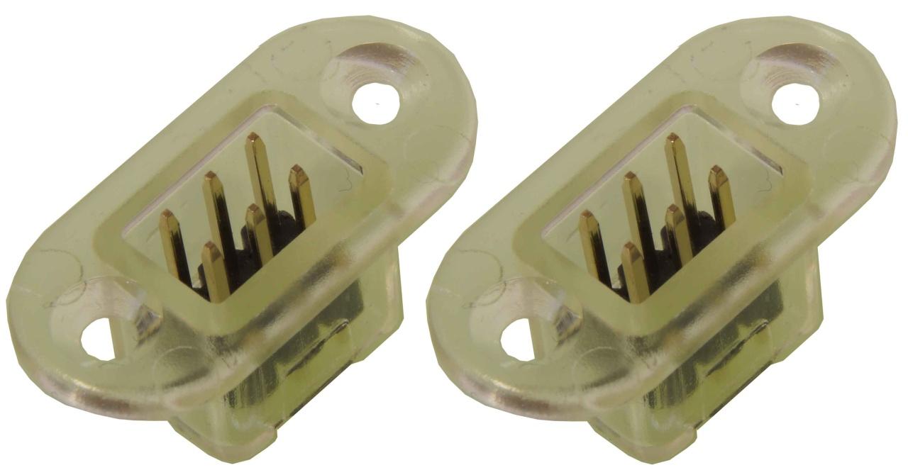 Rumpfrahmen mit 2 Steckern (2 Stück)