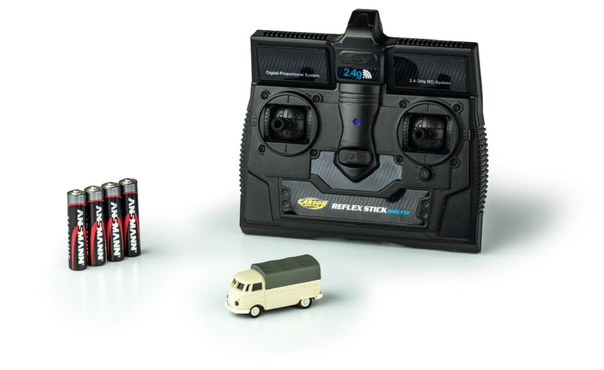 VW T1 Bus Pritsche 2.4GHz 100% RTR 1:87
