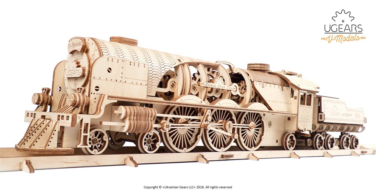 UGEARS V-Express Lokomotive