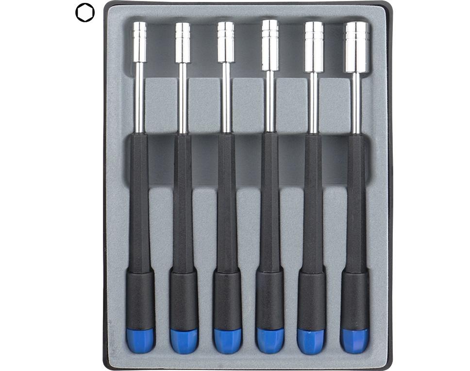 Sechskant Steckschlüssel-Set 4,0-8,0mm
