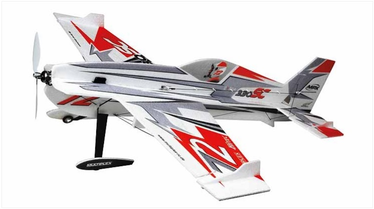 Extra 330SC Indoor Edition rot/silber