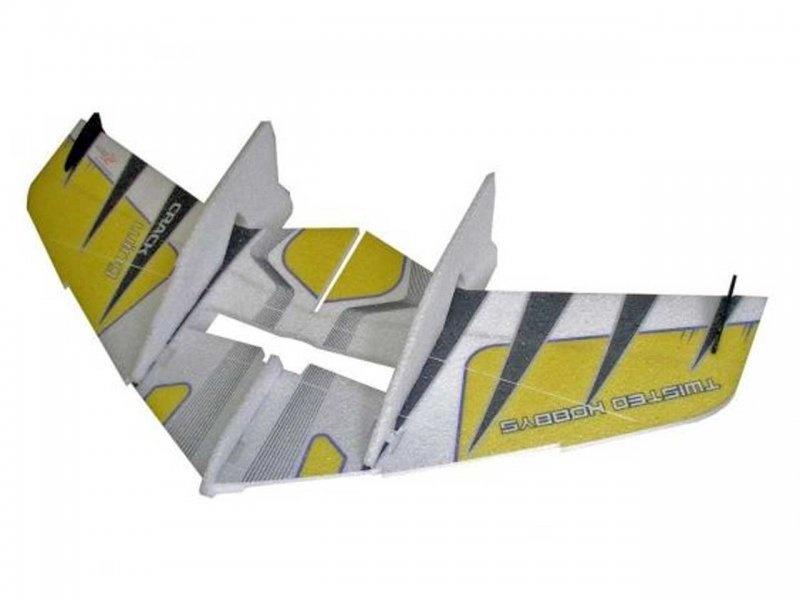 Crack Wing 0,75m gelb