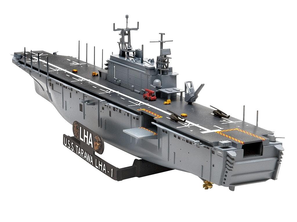 USS Tarawa LHA-1 Assoult Ship