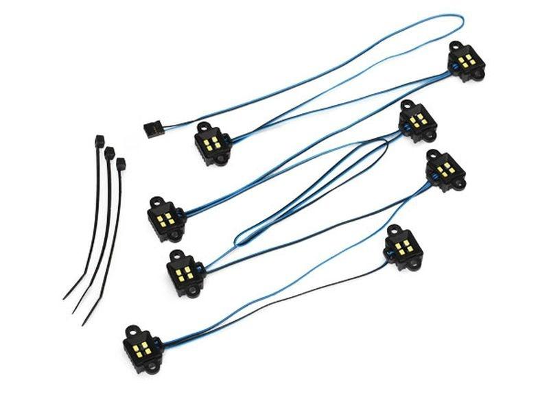 LED ROCK LIGHT KIT, TRX-4 TRAXXAS