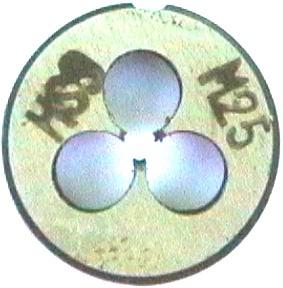 Schneideisen M3 DIN 223B, HSS