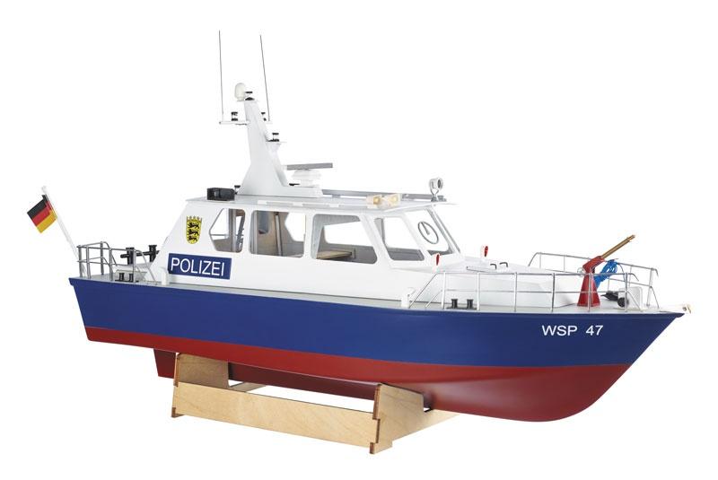 Polizeiboot WSP47 Bausatz