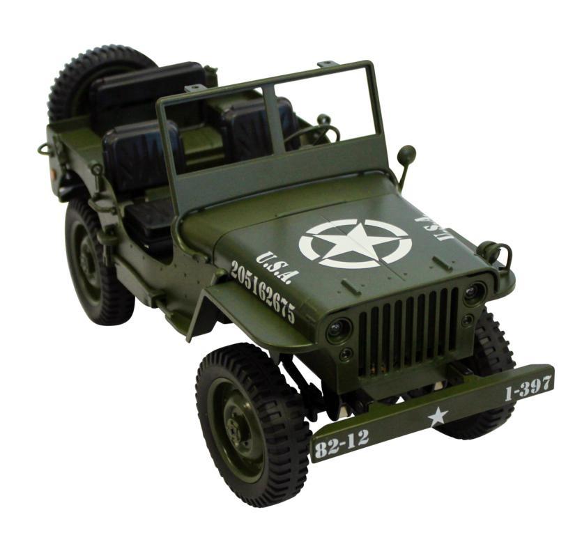 Military Car 1:12 4WD RTR 2,4GHz grün