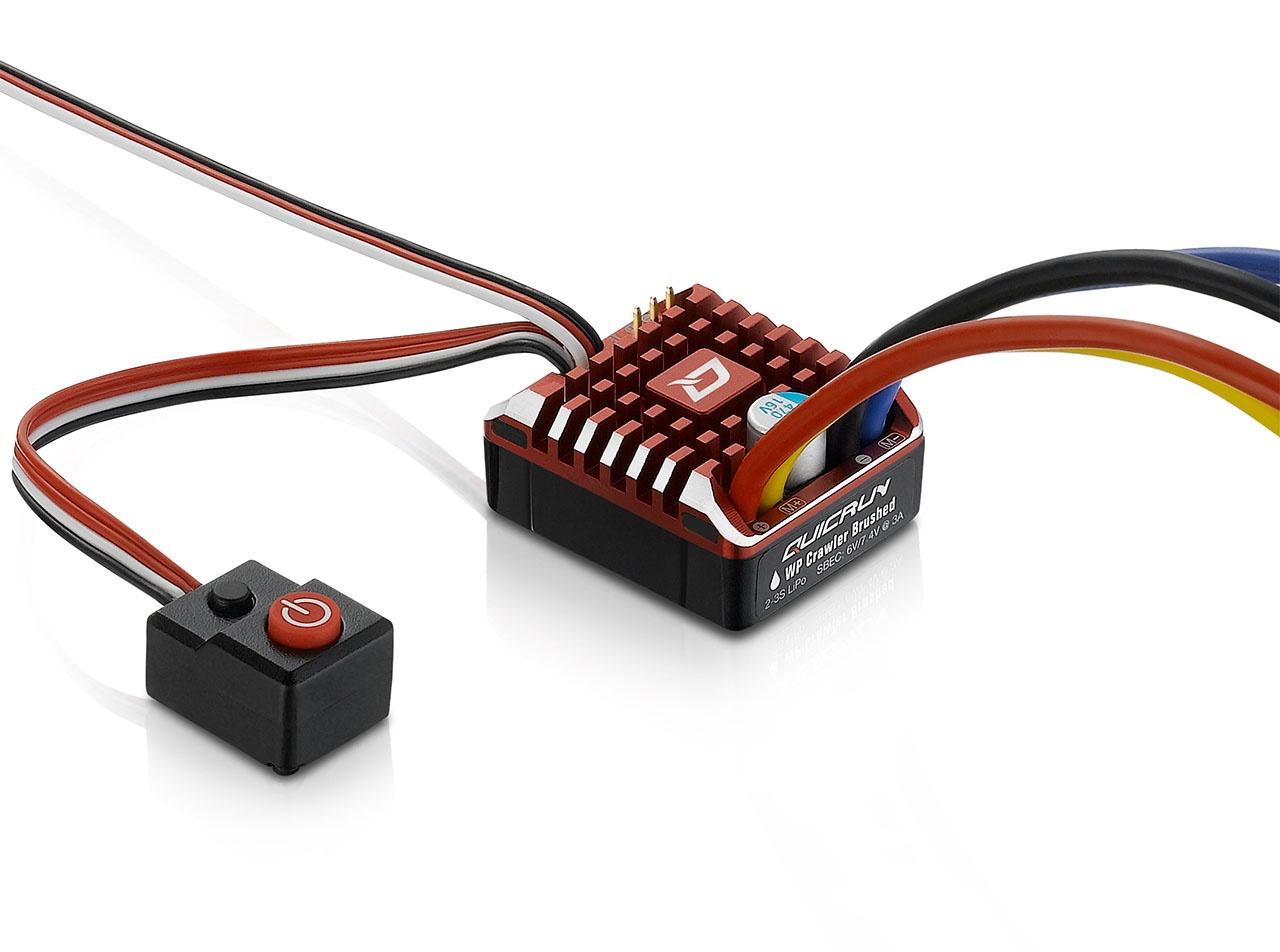 QuicRun Regler WP-1080 Brushed Crawler 80A