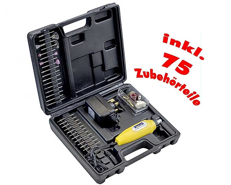 Multiwerkzeug, Set inkl. 75 Zubehörteile