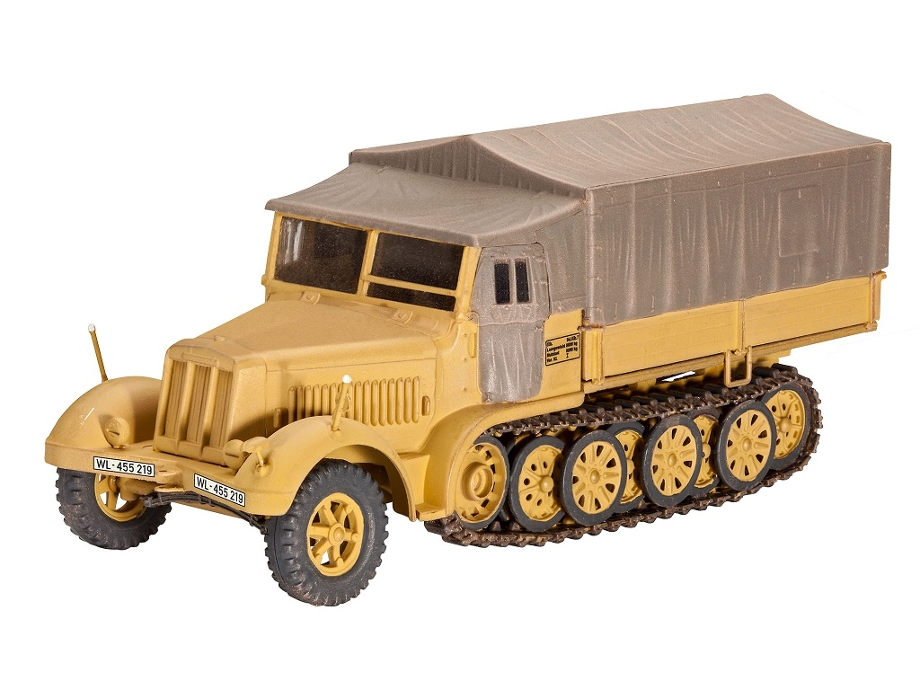 Sd. Kfz. 7 Late Production 1:72